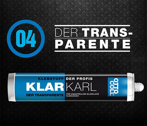 KLARKARL - Der Transparente